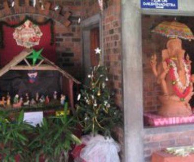 Manger and Ganesha